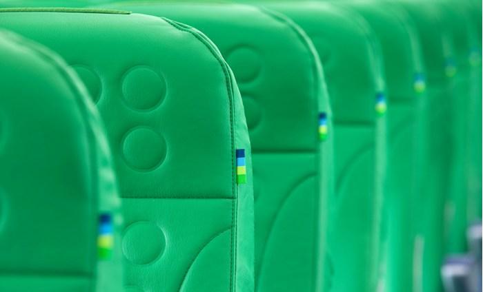 Transavia new e-leather Seats