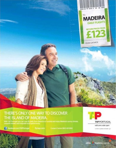 Low Cost Flights to Madeira
